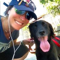 Nicoletta's dog boarding