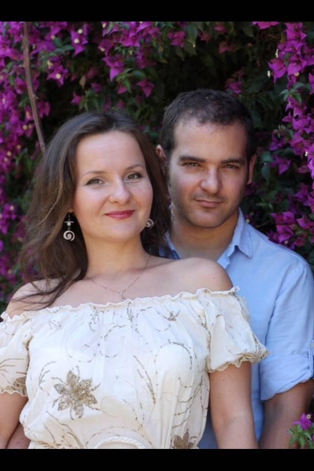 Salvador y Natalia F.