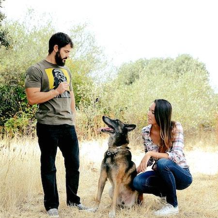 Laura, Álex y Chuco D.
